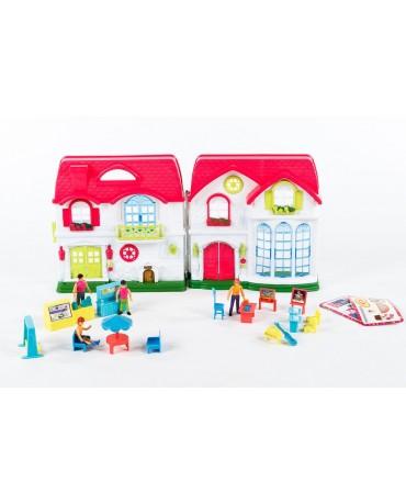 Puppen Haus Puppenstube Zubehör KP4781 Kunststoff Spielzeug Puppenhaus Puppen