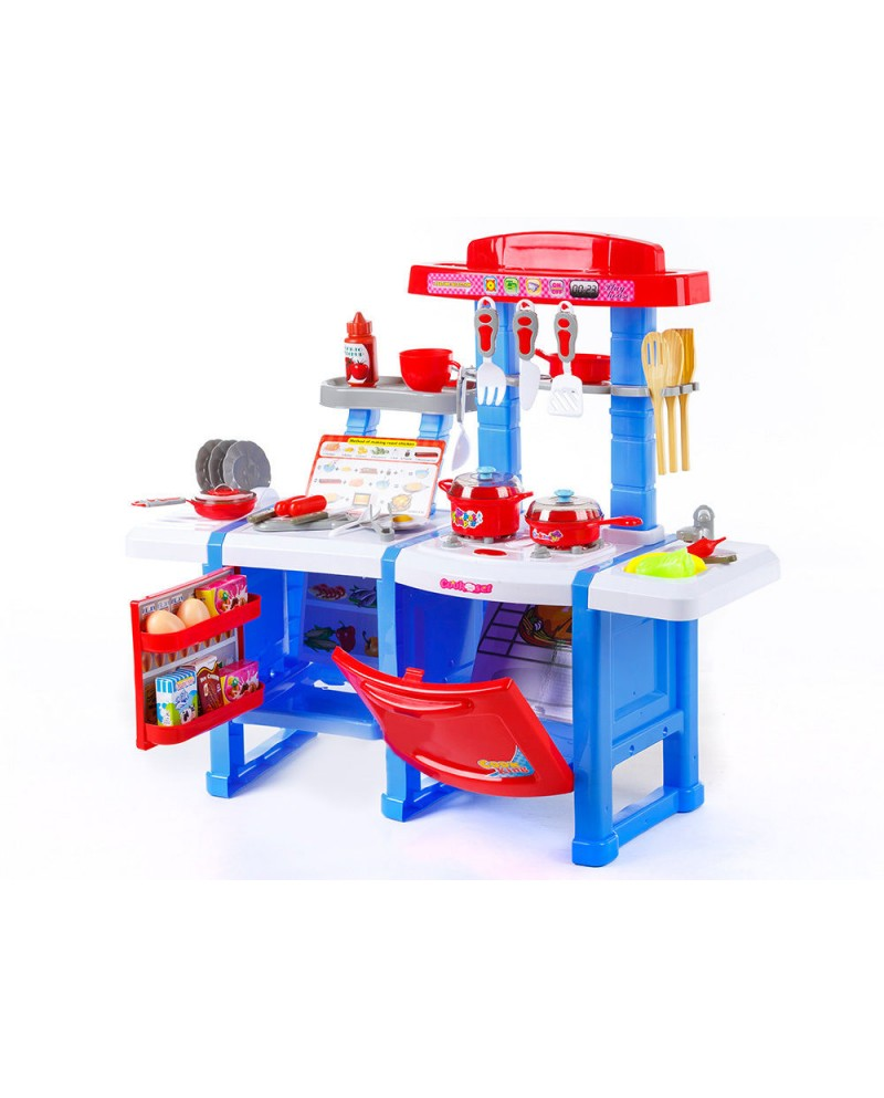 Kinderküche Spielküche Kinder Küche KP9401 Blau Kinderspielküche NEU ...
