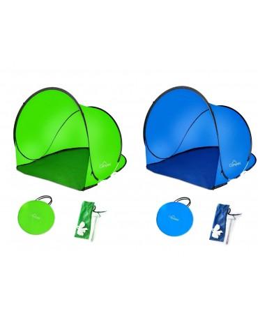 Pop Up Strandmuschel Sonnenschutz CA0015 Strandzelt Windschutz  Zelt NEU