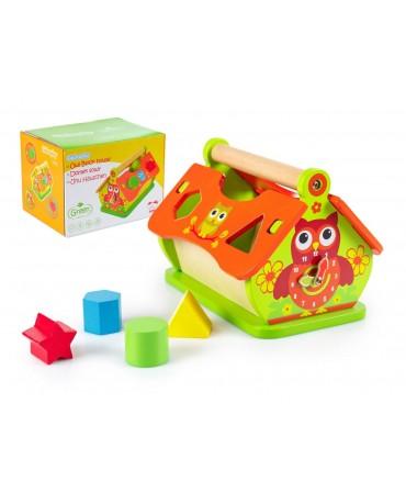 Motorikspielzeug Sortierbox Holzspielzeug GS0004 HOLZEULE Lernspielzeug Neu