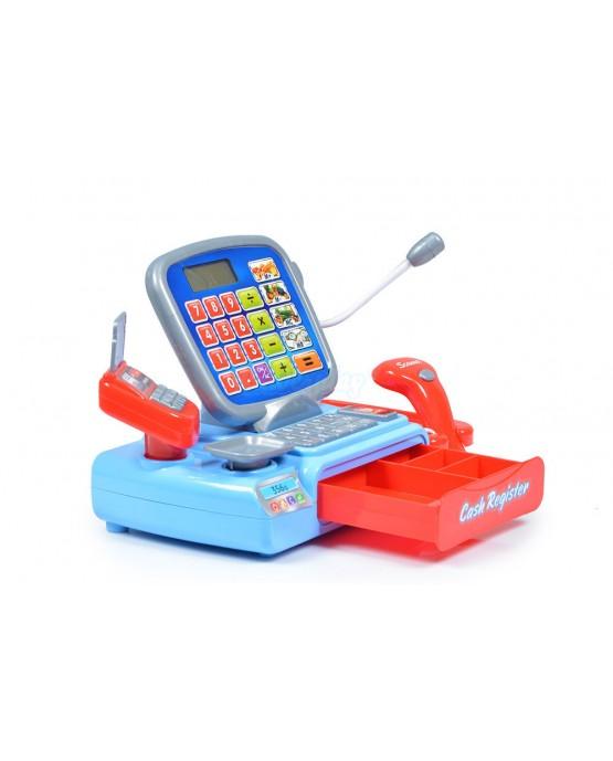 Kasse Zubehör Kinderkasse KP3268 Spielzeugkasse Registrierkasse Spielzeug NEU