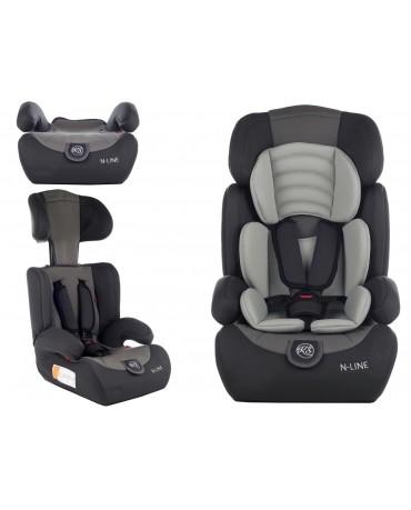 Autokindersitz Autositz Kinderautositz mit Extrapolster Kids 9-36 kg 1+2+3 Neu