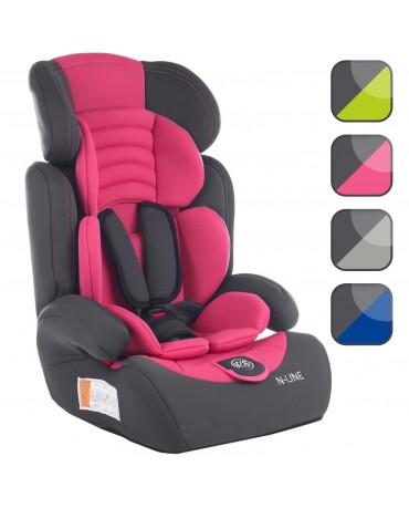 Autokindersitz Autositz Kinderautositz mit Extrapolster ECE Kids 9-36 kg 1+2+3