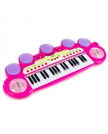Piano Kinderpiano Keyboard Spielzeug Klavier KP8285 Musikinstrument Mikrofon