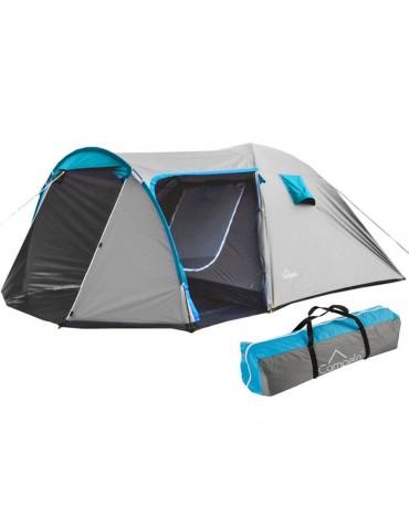 Familienzelt Campingzelt Camping Zelt CA0013SIL(dark) 4 Personen Outdoor NEU
