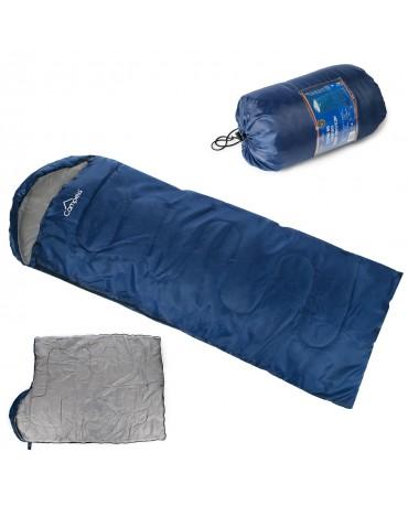 Schlafsack mumienschlafsack Deckenschlafsack Decke CA0040 BLU NEU ultraleicht