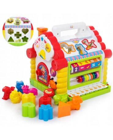 Steckbox Sorter Lernspielzeug Spielzenter für Baby Kleinkind  KP7766 Motorikhaus