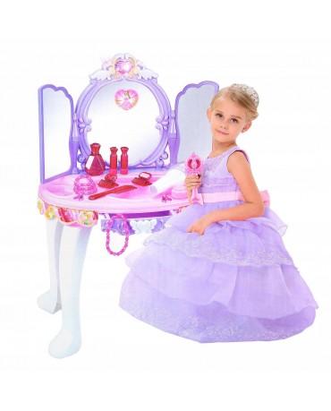 Schminktisch Spielzeug Frisiertisch Mädchen KP2362 SPIELZEUG MIT MP3-ANSCHLUSS