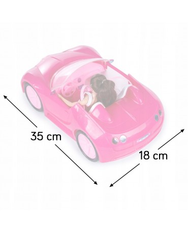 Cabrio Auto Barbie Pink Glam Cabrio Fahrzeug KP2281 NEU Fahrzeug