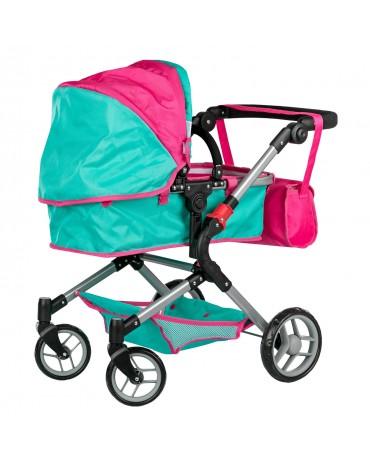 Puppenwagen Sportwagen Babypuppenwagen  Tragetasche KP0250 Farbwahl Puppenkar