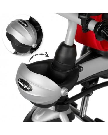 Dreirad Kinderdreirad Kinder Lenkstange KP0566RED Fahrrad Kinderwagen Baby Neu