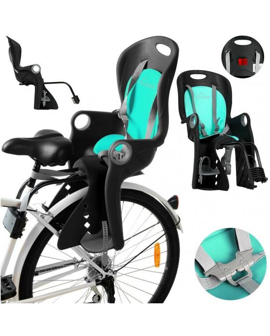 Kinderfahrradsitz Fahrradsitz Fahrrad mit TÜV CA0060 Kindersitz Sicherheitssitz
