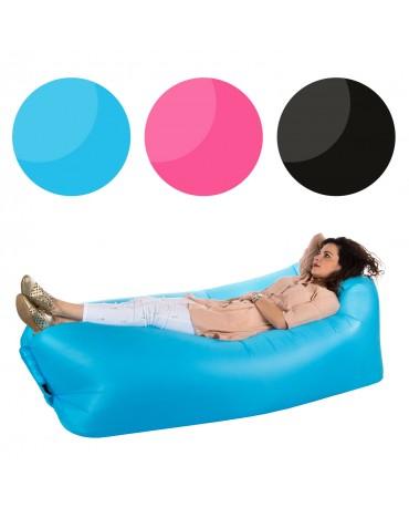 Luftsofa Wasserdichtes Sofa Aufblasbares Farbwahl CA1200 mit Tragebeutel Neu