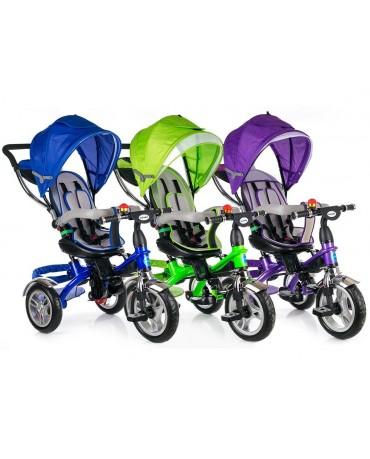 Dreirad Kinderdreirad Kinder Lenkstange Fahrrad Kinderwagen Sonnendach Baby Neu