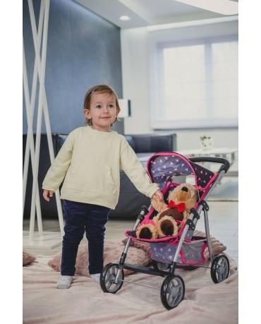 Puppenwagen Puppenbuggy Kinderwagen KP0270R Buggy Kinderplay Neu Baby Spielzeug