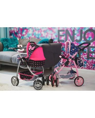 Puppenwagen Puppenwagen Babypuppenwagen KP0300R Kinderwagen Puppe Sportsitz NEU