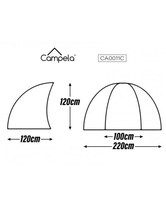 Sonnenschutz Strandmuschel Strandzelt Campela CA0011C NEU Strand Camping