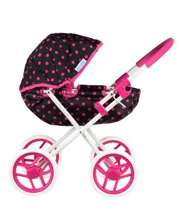 Puppenwagen Babypuppenwagen Puppenkarre Kinderwagen KP0260 NEU PINK