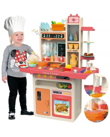 Kinderküche Spielküche Spielzeugküche Spielzeug KP9295 Zubehörteile Dampf  Pink