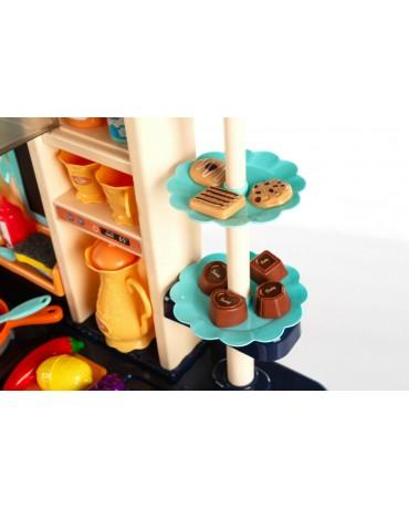 Kinderküche Spielküche Spielzeugküche Spielzeug KP9294 Zubehörteile Dampf Marine
