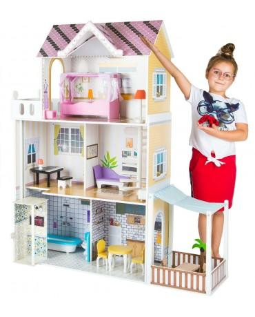 Puppenhaus Barbiehaus Puppenstube Puppenvilla Spielzeughaus Holz Möbeln GS0021