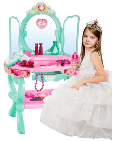 Schminktisch Spielzeug Frisiertisch Mädchen SPIELZEUG MIT MP3-ANSCHLUSS-2 KP2049