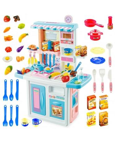 Kinderküche Spielküche Spielzeug Küche KP4568 mit Zubehörteile Blu mädchen Neu