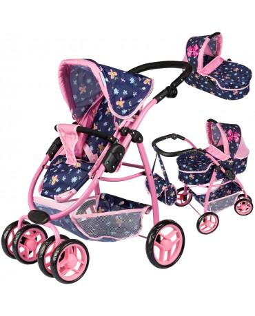 Puppenwagen Puppenwagen Babypuppenwagen KP0300i Kinderwagen Puppe Sportsitz NEU