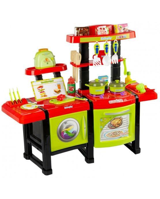 Kinderküche Spielküche Spielzeug Küche KP6031 Zubehör Zubehörteile Toaster Green