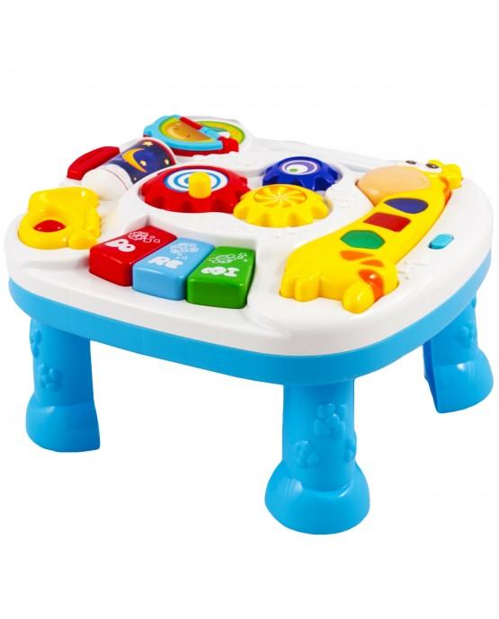 Lerntisch Spieltisch Spielzeug Motorik Musik KP6428 Kinder Piano Baby Neu